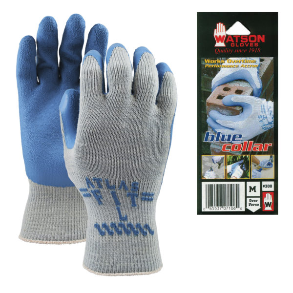 300 Atlas® Blue Collar gloves