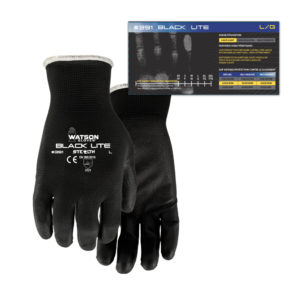 391-Stealth-Black-Lite gloves